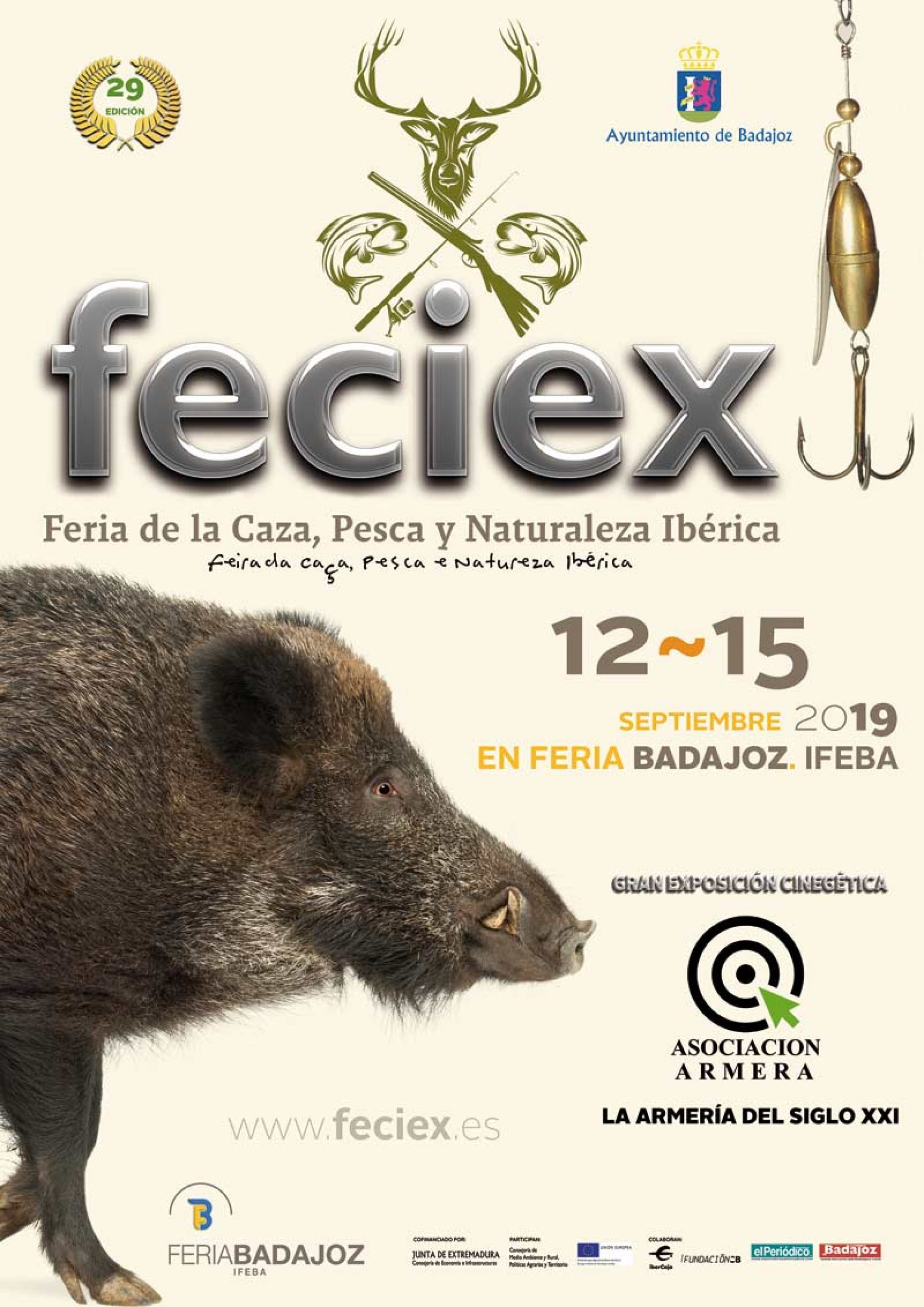 Un año más Feciex, Feria de la Caza, Pesca y Naturaleza Ibérica