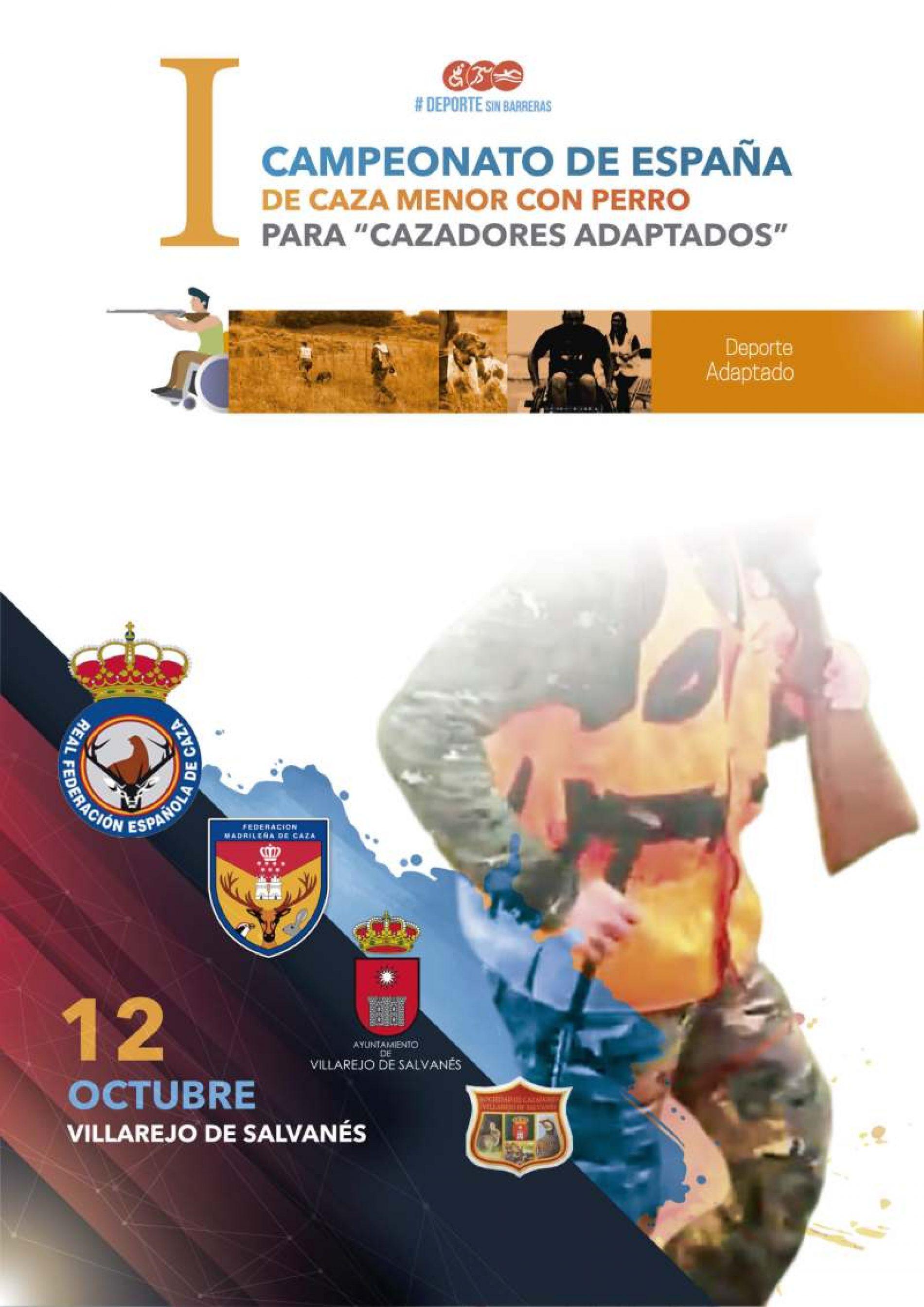 Primer Campeonato de España de Caza Menor con Perro Mixto para Cazadores Adaptados