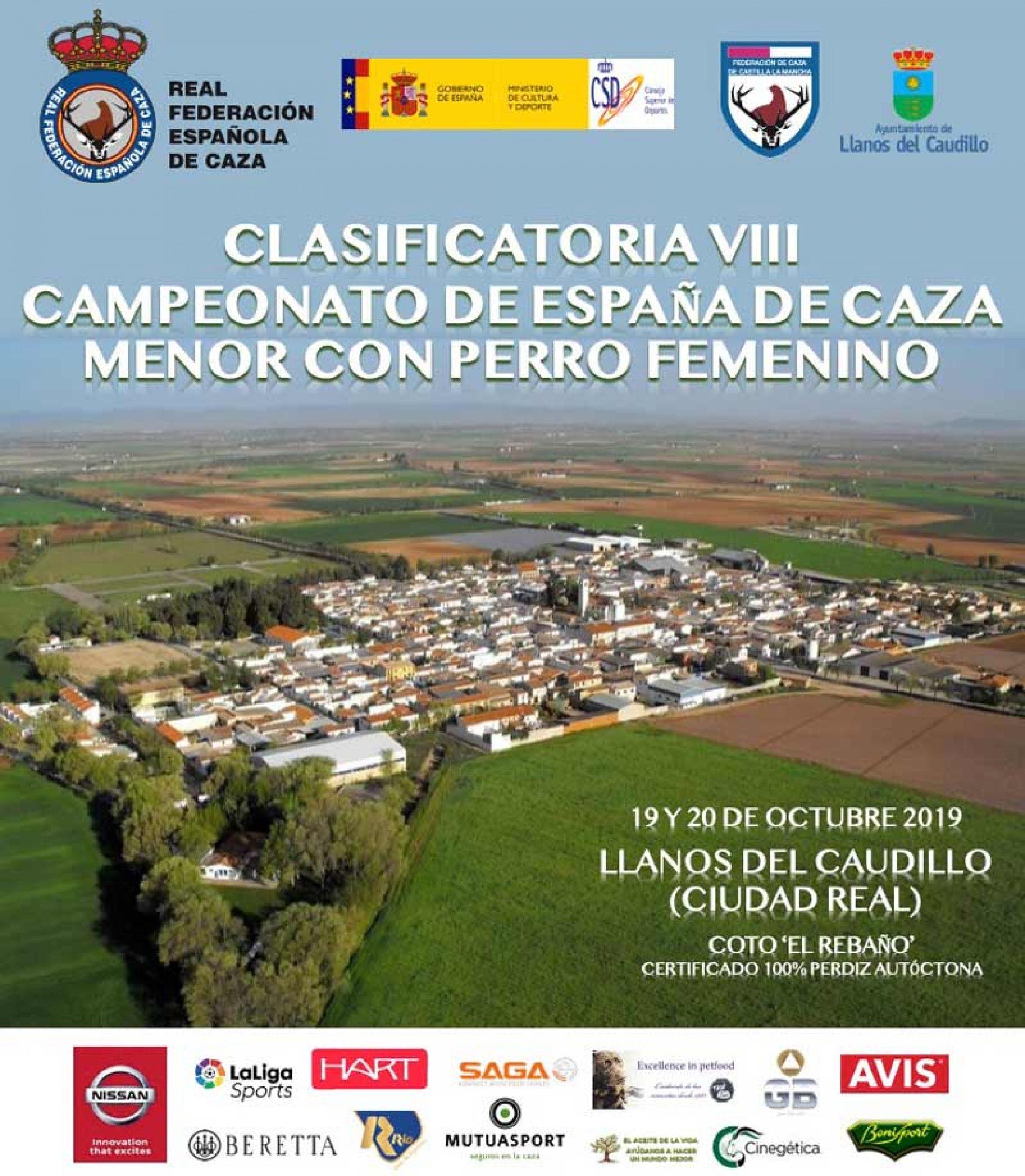 VIII Campeonato de España de Caza Menor con Perro Femenino