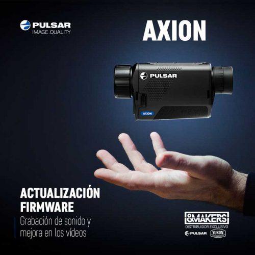 El sonido llega a los AXION de Pulsar con una nueva actualización