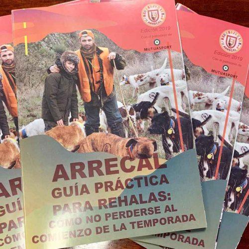 """Mutuasport y Arrecal han presentado su nuevo """"Seguro de Rehalas"""" y """"La Guía Práctica para los Rehaleros""""."""