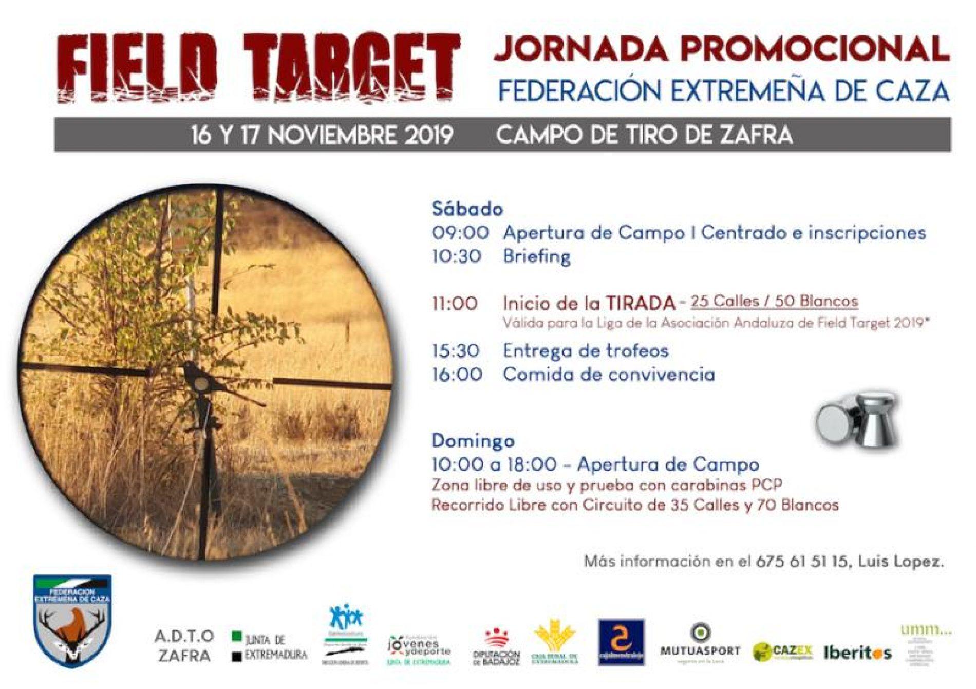 FEDEXCAZA celebra una jornada Promocional de la nueva modalidad de Field Target