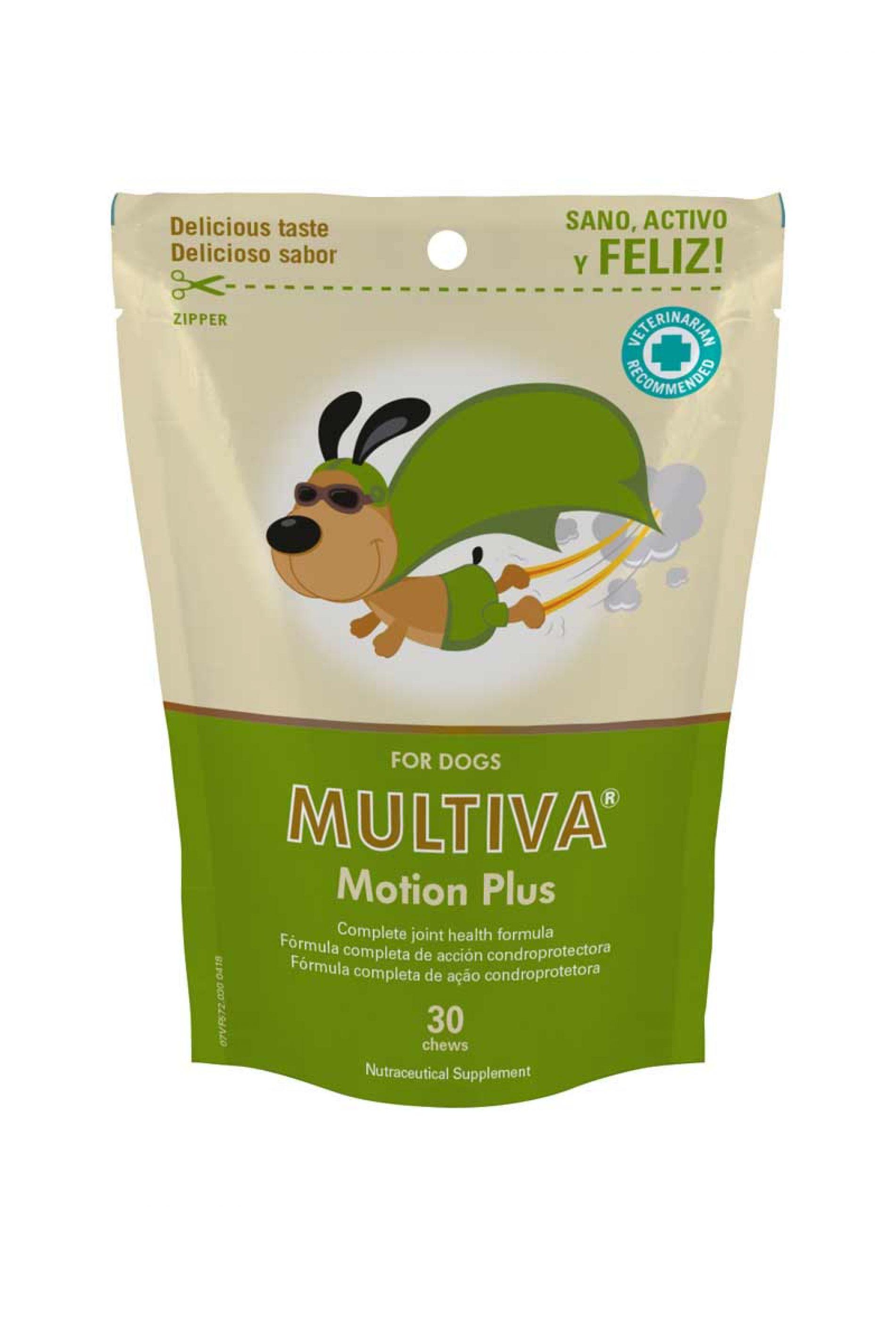 Nuevo MULTIVA® Motion Plus de VetNova, mejora la calidad de vida tu perro