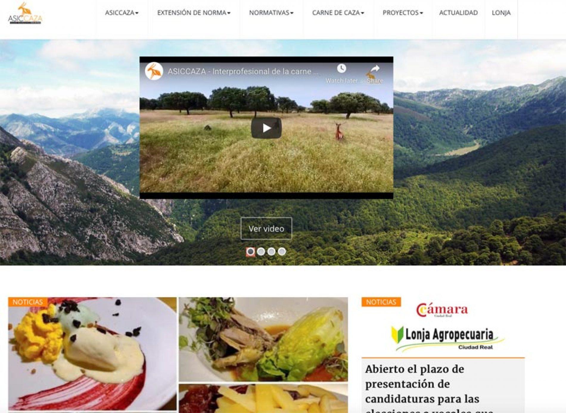 ASICCAZA presenta su nueva web