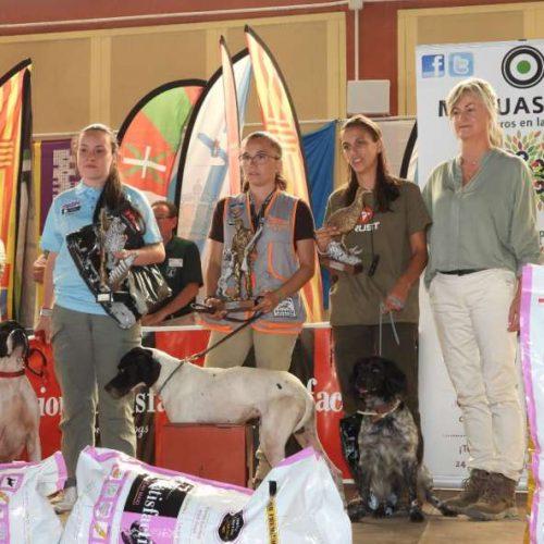 Pedro López, María Fernández y Carlos Tiburcio campeones de España de Caza San Huberto