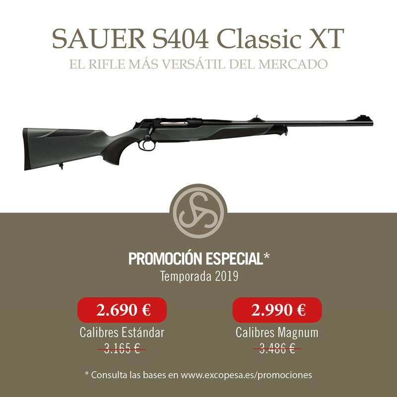 Promoción Sauer 404 Classic XT  El rifle todoterreno para