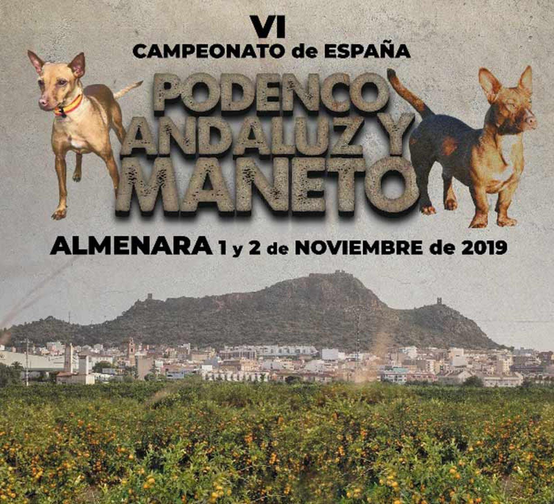 VI Campeonato de España de Trabajo para Podenco Andaluz y Maneto