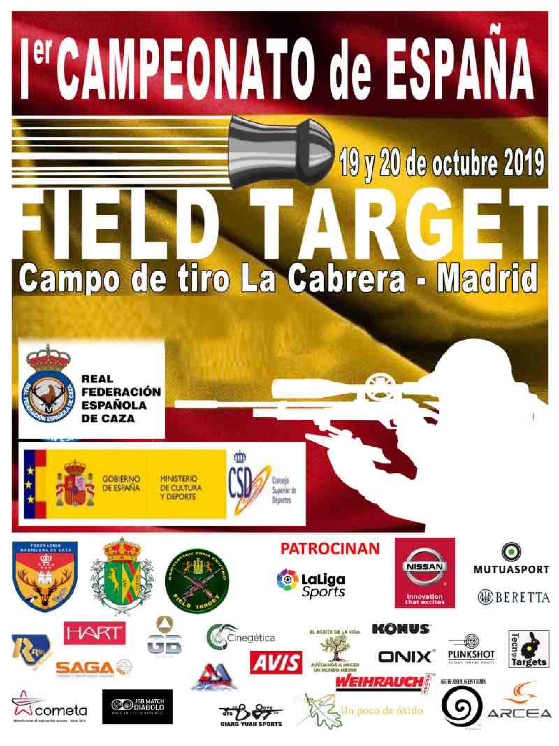 Este fin de semana arranca el primer Campeonato de España de Field Target