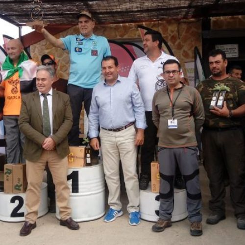 Artemio Formoso campeón de España de Caza Menor con Perro para Cazadores Adaptados