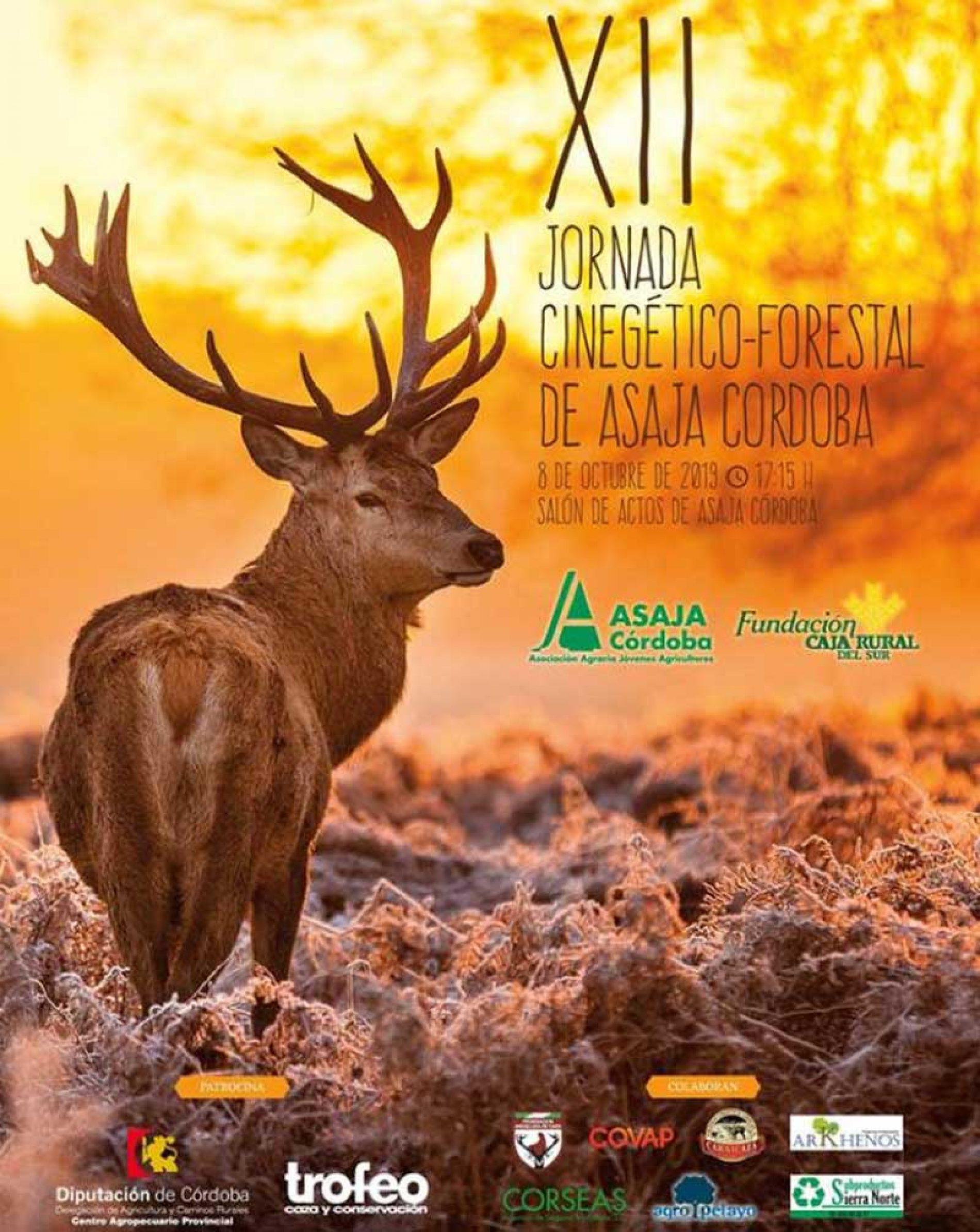 El 8 de octubre se celebran la XII Jornada Cinegético-Forestal de Asaja Córdoba