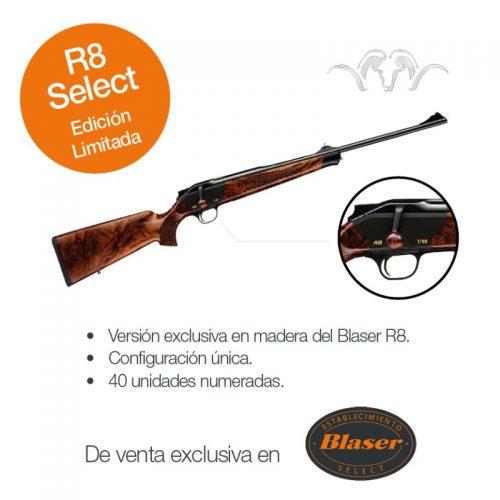 40 únicas piezas para España del Rifle Blaser R8 Select Edición Limitada.
