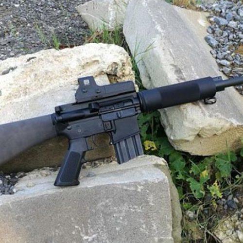 """El rifle Bushmaster .450 """"thumper"""". El ar-15 de caza en gran calibre."""