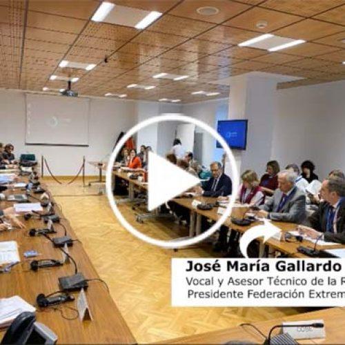 Jose María Gallardo Gil defiende en la Cumbre Bilateral sobre la Directiva Aves y Hábitats el papel de la caza en la conservación de las especies