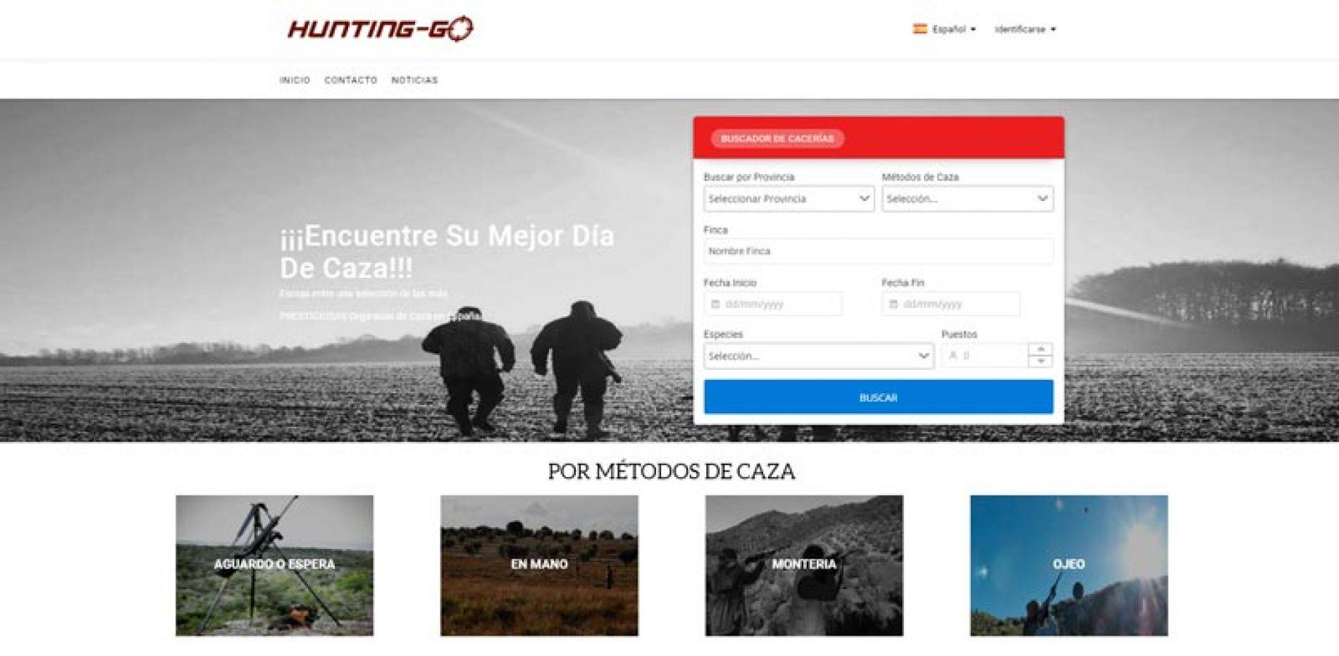 Nace hunting-go.com, para facilitar la vida del cazador