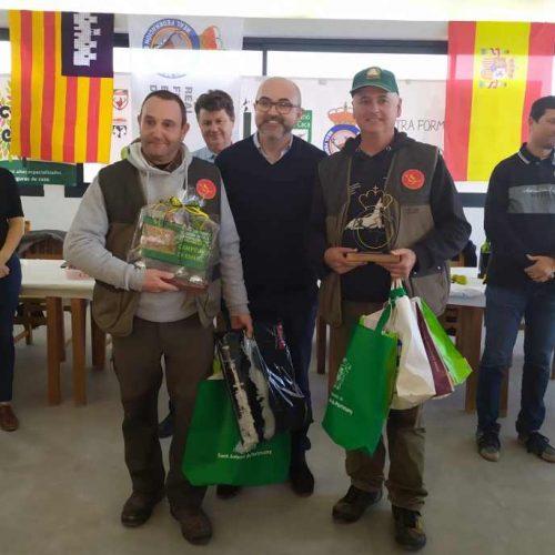 Los podencos ibicencos de Adriá Anguera y Agustí Forcadell, nuevos campeones de España