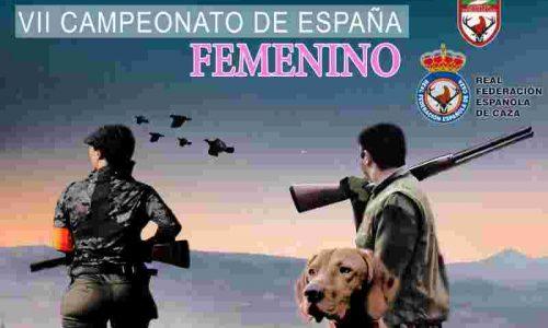 LI Campeonato de España de Caza Menor con Perro y VII Campeonato de España Femenino