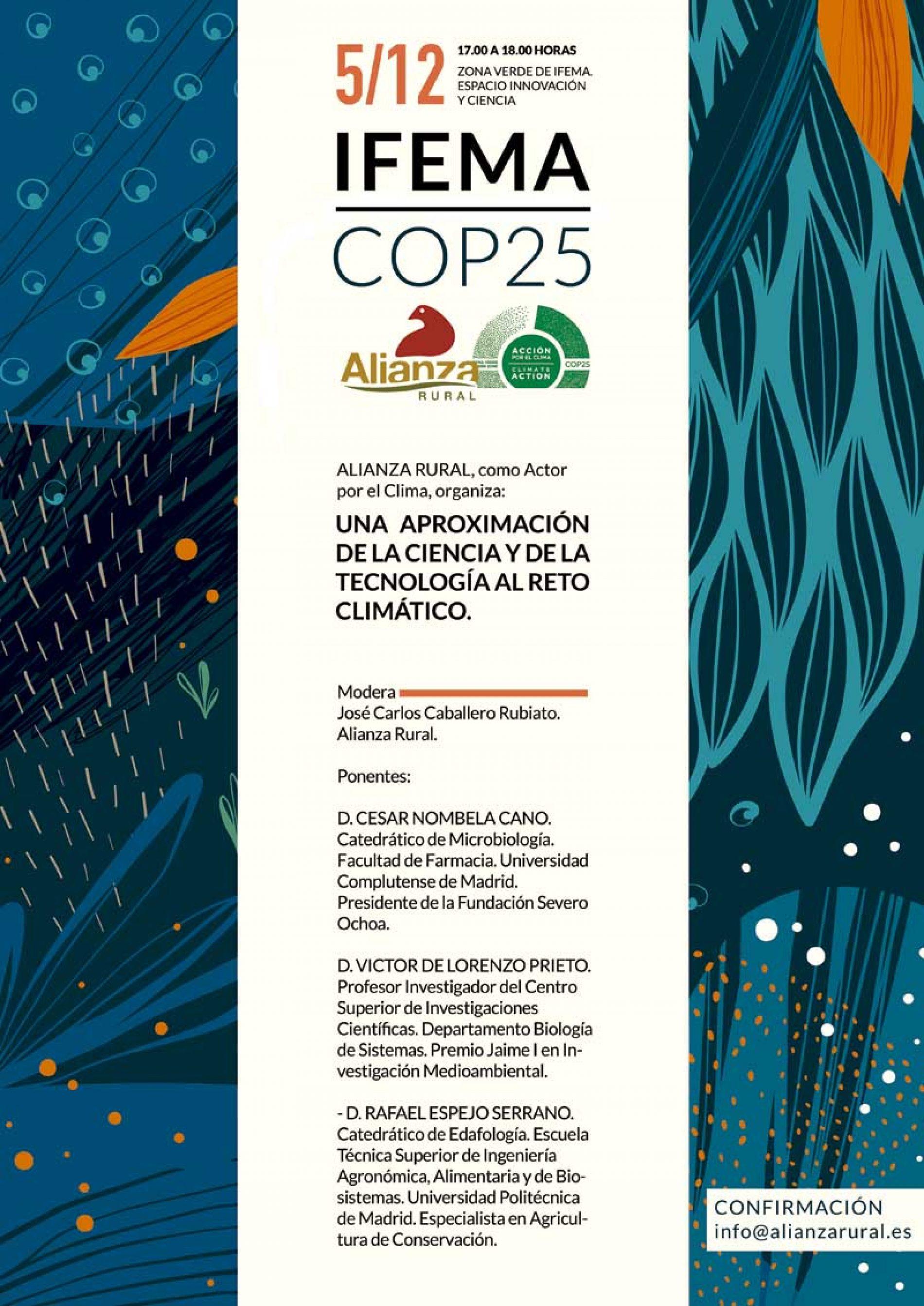 Alianza Rural: Actor Global por el Clima en COP25