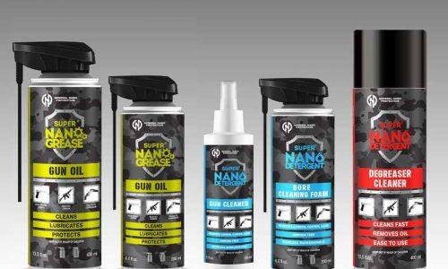 Los Productos para la limpieza y mantenimiento de armas de la marca Super NANO llegan a España