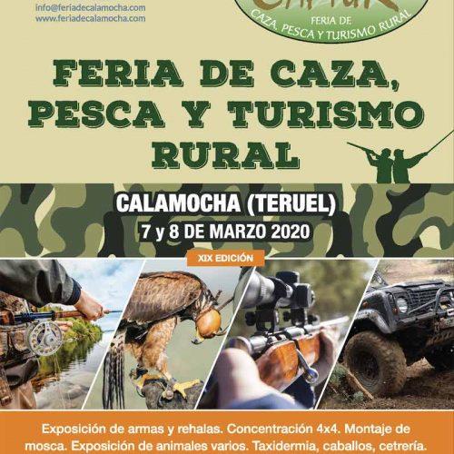 Calamocha celebra CAPTUR el 7 y 8 de marzo con importantes novedades.
