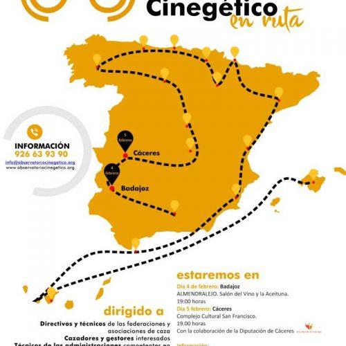 El Observatorio Cinegético se presentará en Almendralejo y en Cáceres en la primera semana de febrero