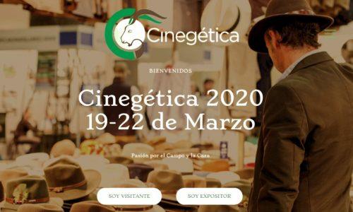 Cinegética 2020 renueva su web, más interactiva, para sus expositores y visitantes