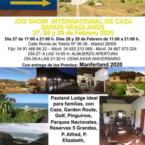 XXII Show Internacional de Caza Safari Headlands