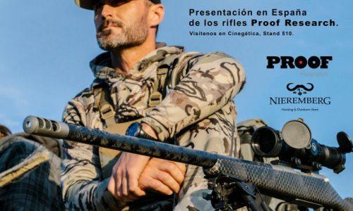 La armería Nieremberg de Madrid acudirá un año más a la feria de caza Cinegetica
