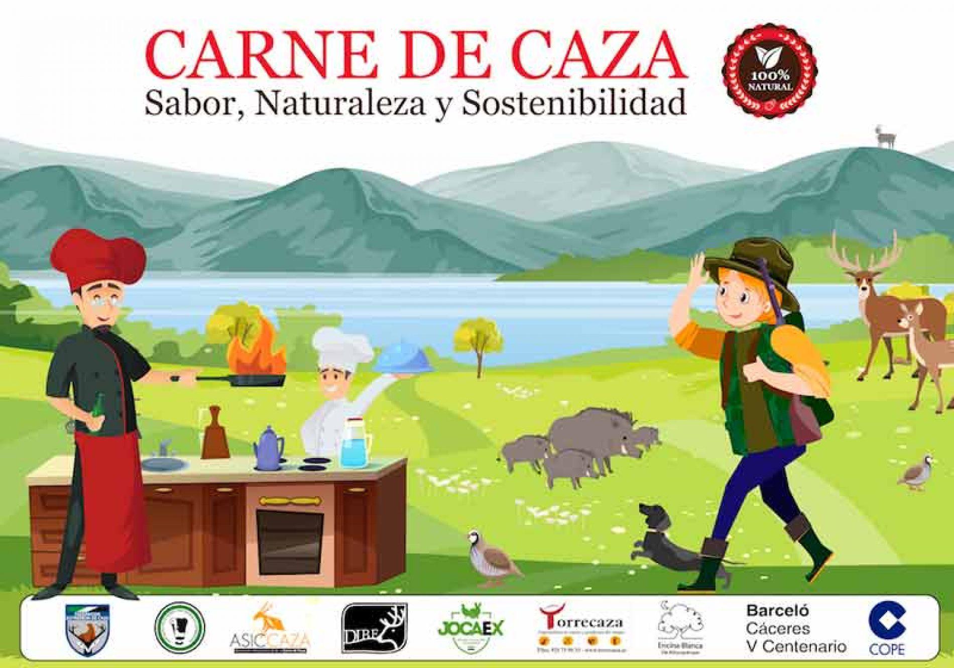 FEDEXCAZA lanza una campaña para impulsar el consumo de la carne de caza en la región