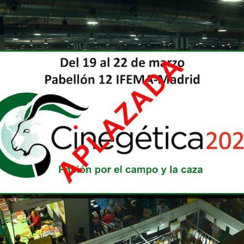 Sanidad obliga a Cinegética 2020 a posponer la feria hasta nueva fecha