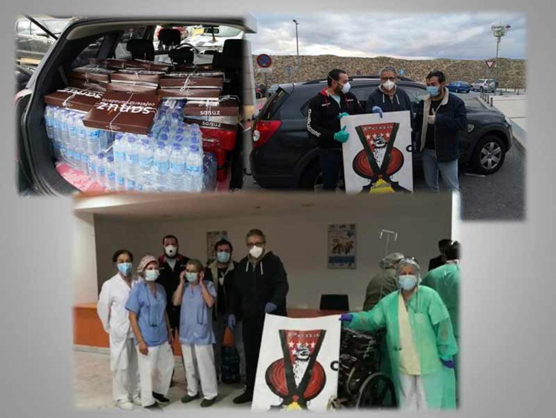 Las sociedades de cazadores Madrileñas federadas Solidarias en la campaña Contra el Covid 19
