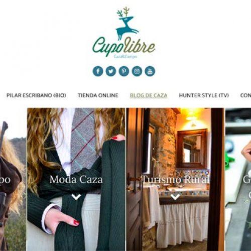 Cupo Libre renueva su nuevo sitio web