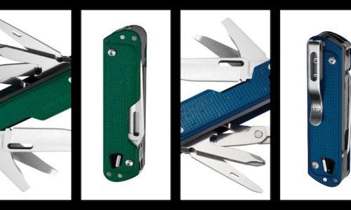 Leatherman lanza nuevos colores para las multiherramientas Free T4 y la Free K2
