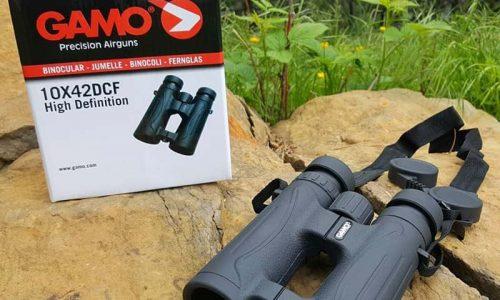 Nuevo prismático GAMO 10×42 DCF HD, simple y eficaz