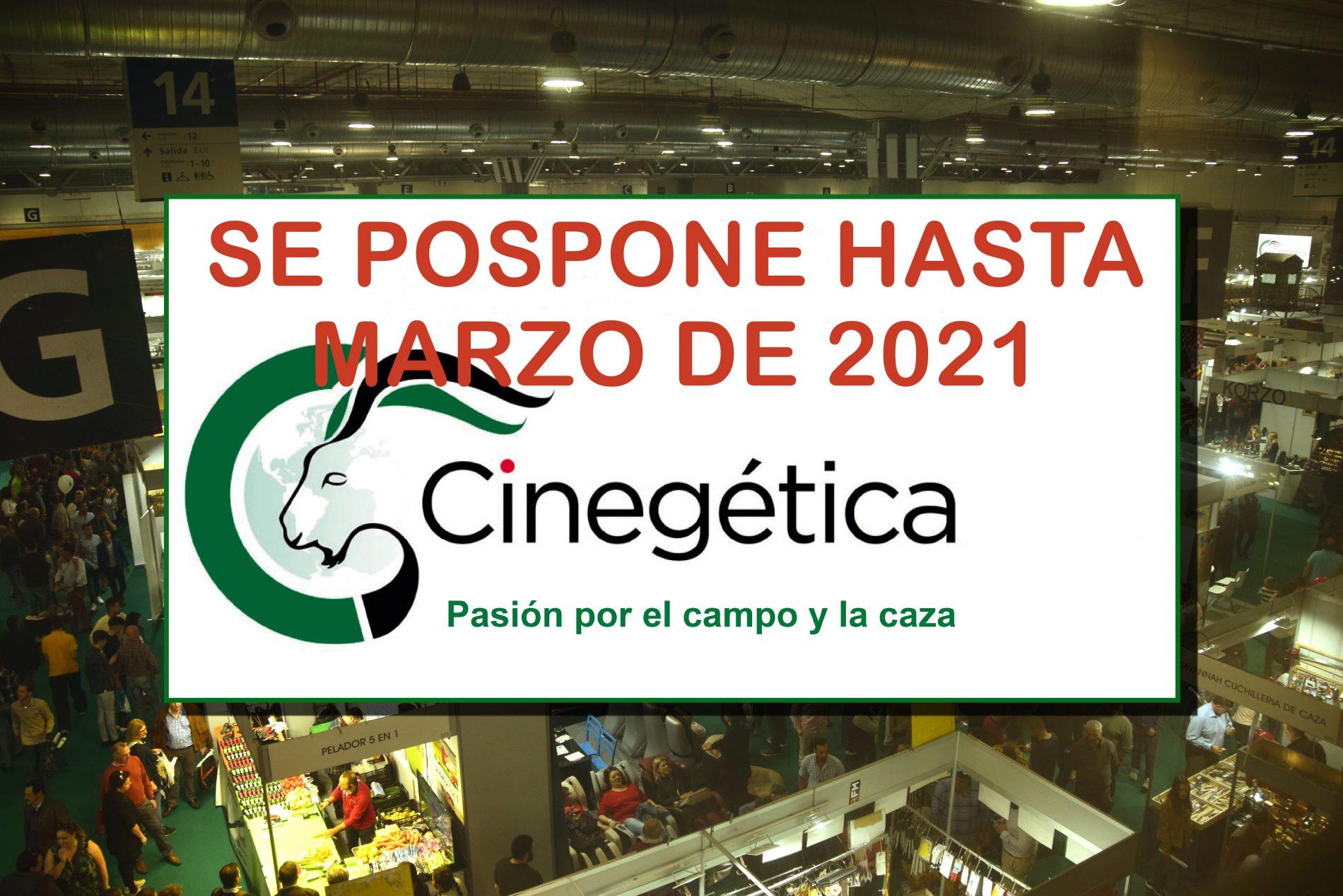 La VIII edición de Cinegética, tendrá lugar en marzo de 2021