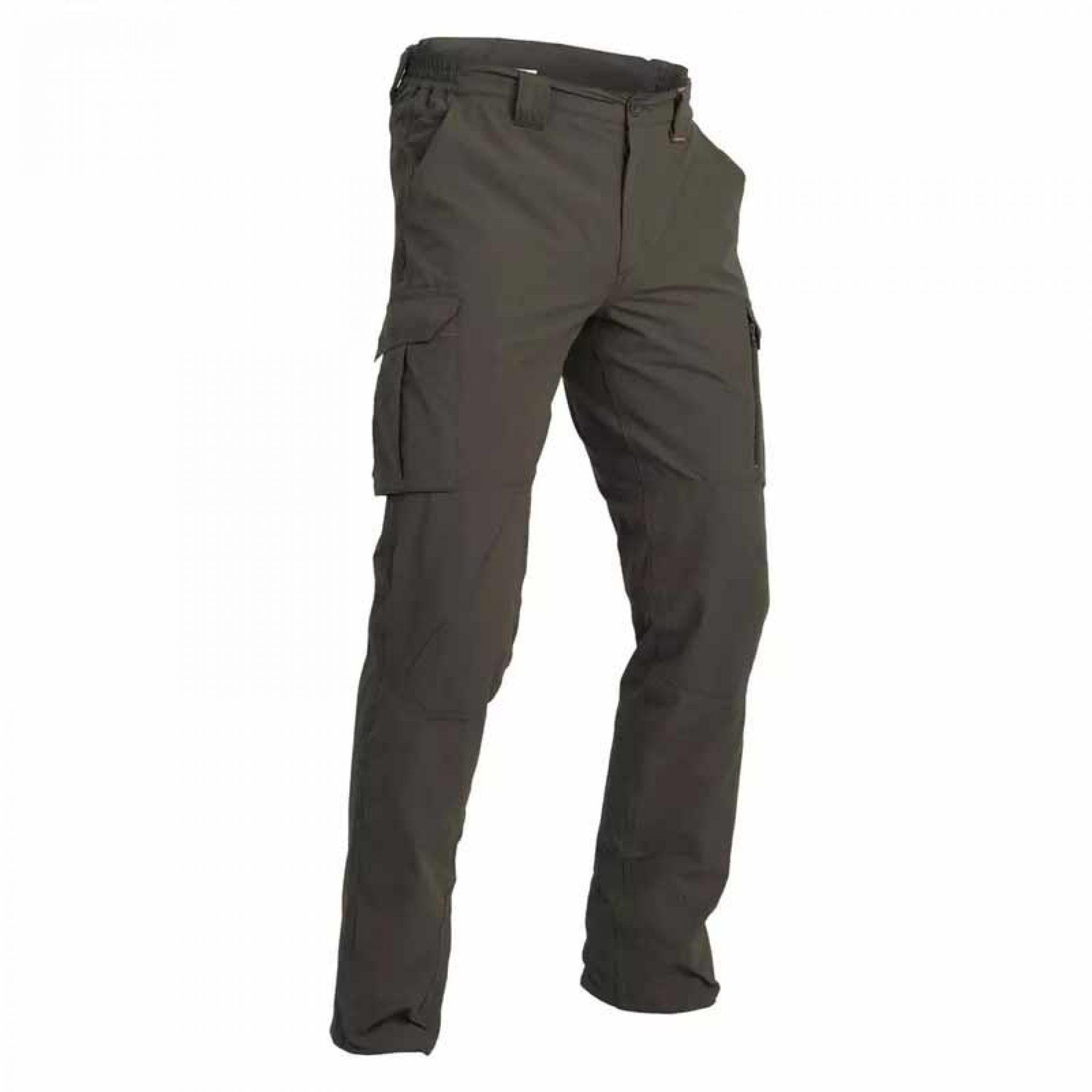 Pantalón Solognac SG 500 diseñado para la caza cuando el calor aprieta