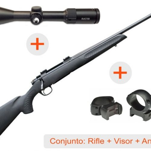 Increíble oferta de Borchers, Pack Rifle + Visor + Anillas