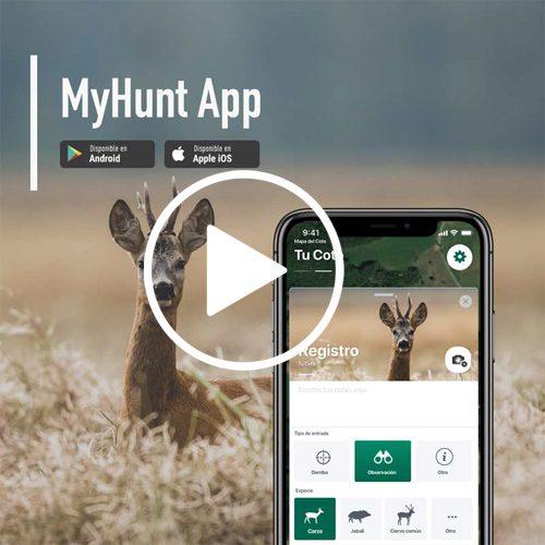 MYHUNT app es tu nuevo compañero de caza digital.