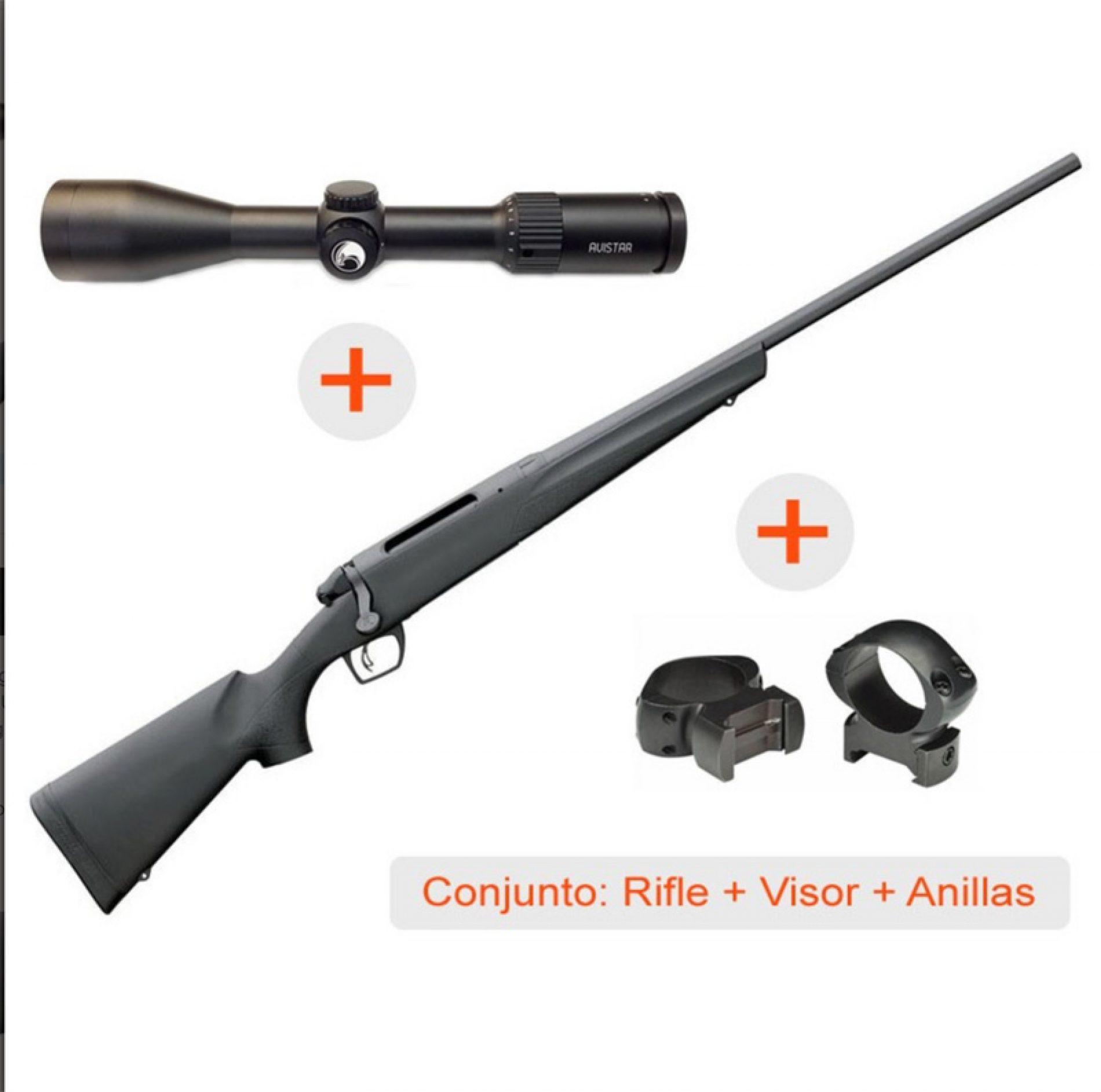 Rifle de cerrojo REMINGTON 783 + Visor AVISTAR 2,5-10×50 R.I. + Anillas WEAVER Grand Slam
