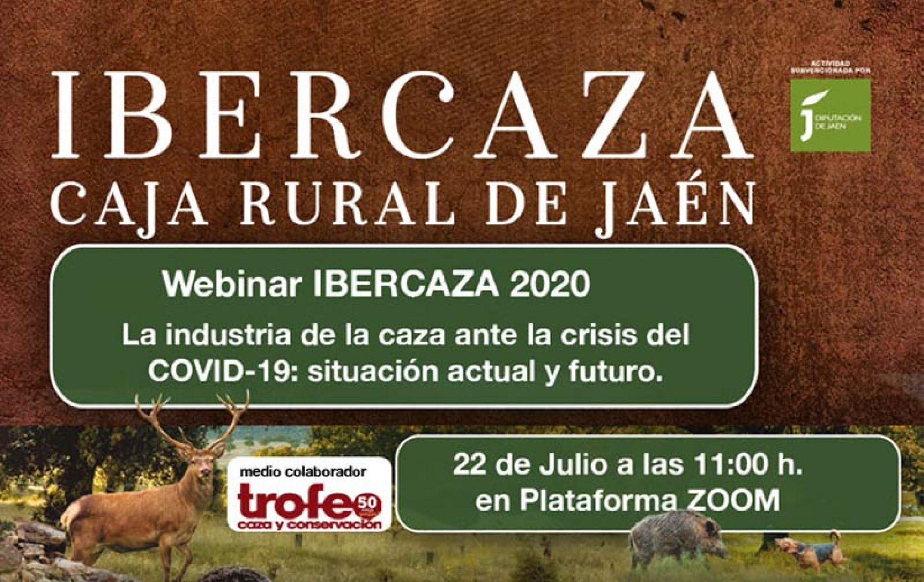 Ibercaza 2020 organiza el Webinar : La industria de la caza ante la crisis del COVID-19