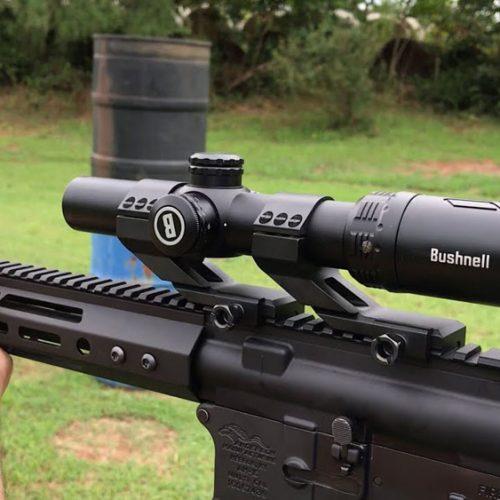 Visor BUSHNELL AR 1-8×24 SFP BTR-1 ilum. La óptica LPVO táctica que triunfa en la caza