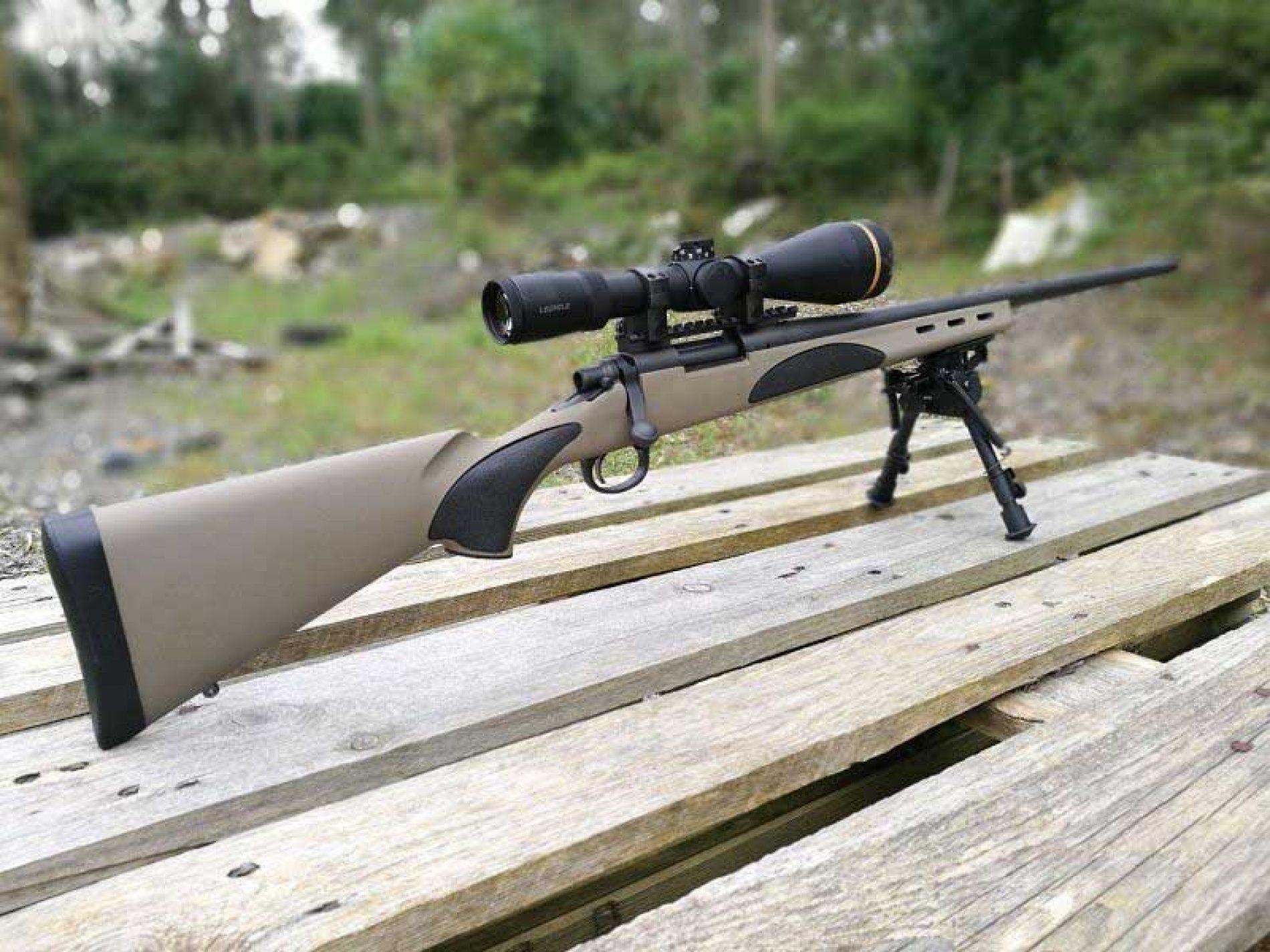 Rifle Remington 700 ADL tactical. El remington 700 polivalente y económico