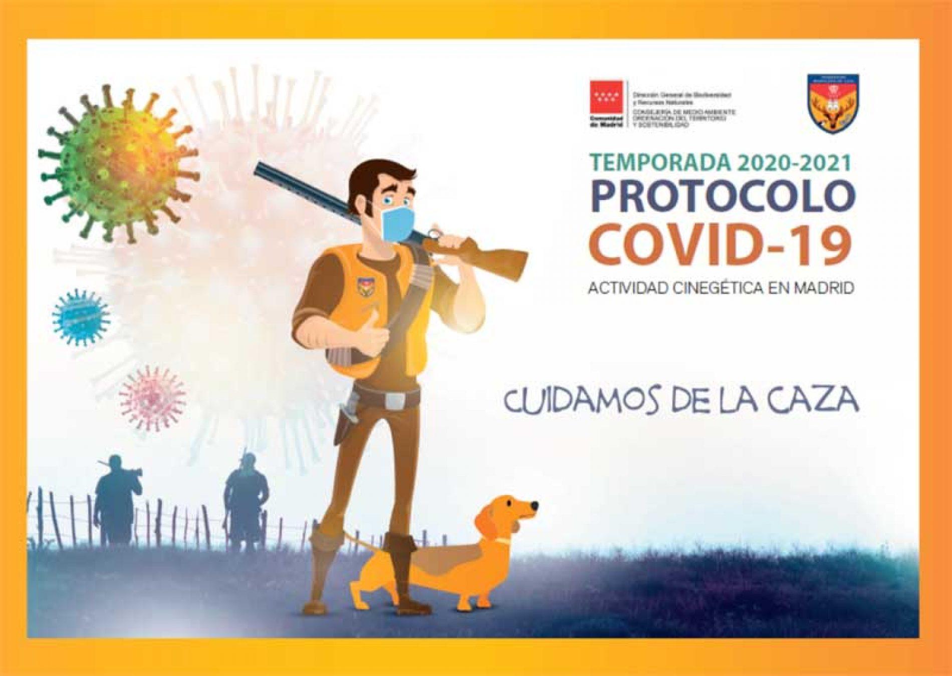 Plan de acción de medidas COVID para las actividades cinegéticas en la Comunidad de Madrid
