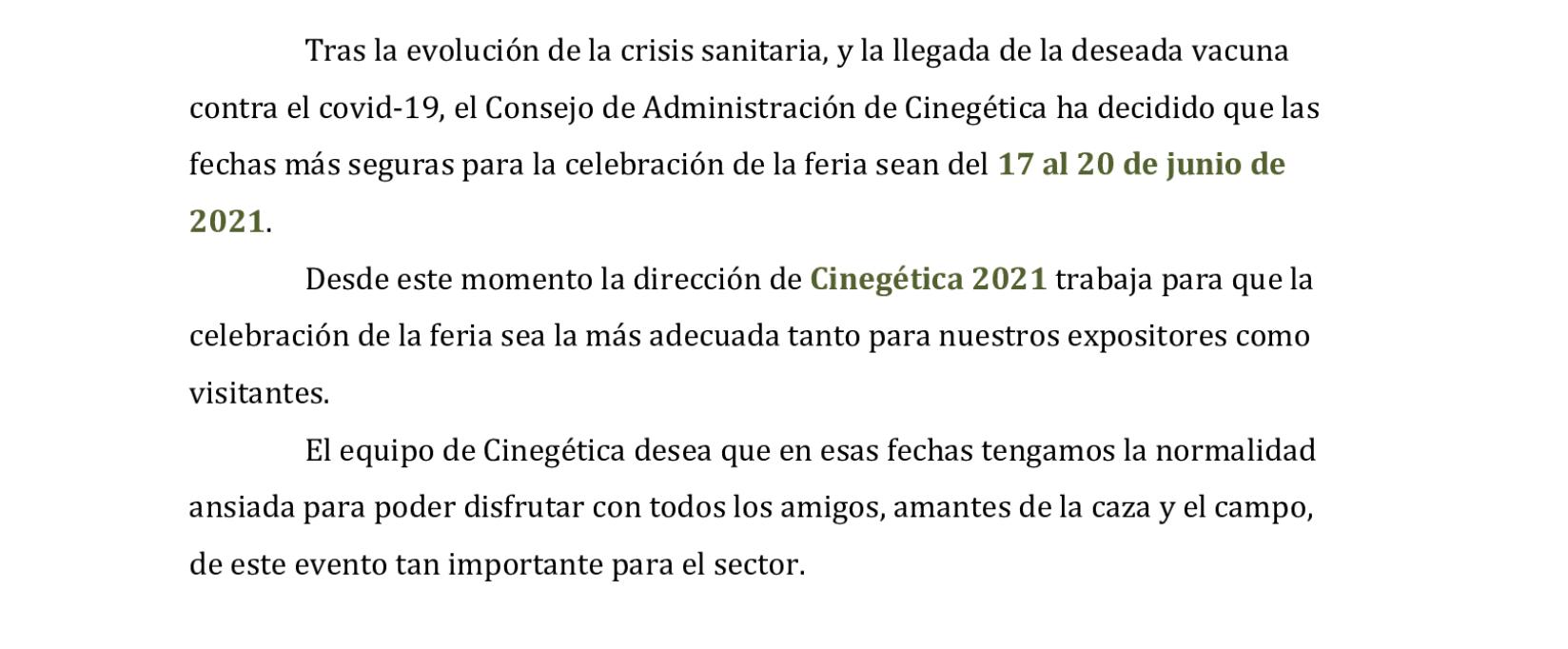 Cinegetica