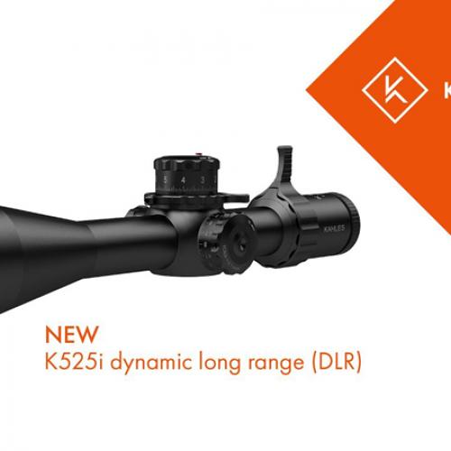 Nuevo dynamic long range (DLR) K525i de Kahles. Tiro deportivo del más alto nivel