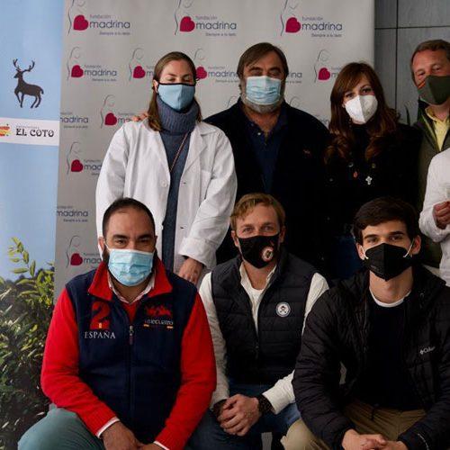 El SCI Iberian Chapter entrega a la Fundación Madrina una donación de 14.000 euros