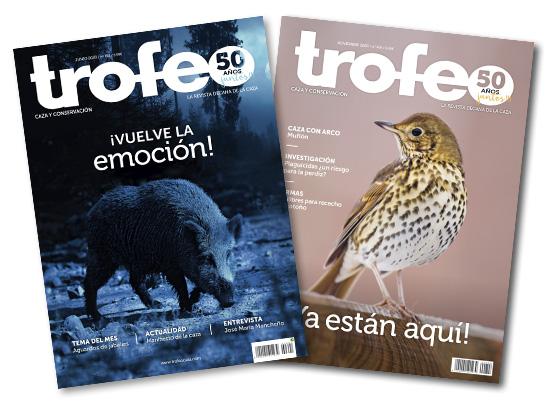 Portadas revista Trofeo caza