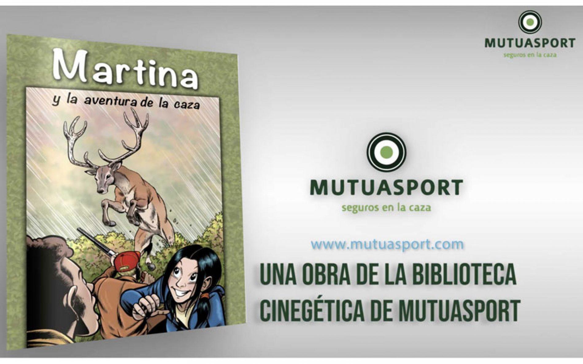 Mutuasport lanza el cómic 'Martina y la aventura de la caza'