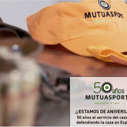 Mutuasport celebra sus 50 años y lanza un vídeo de caza conmemorativo