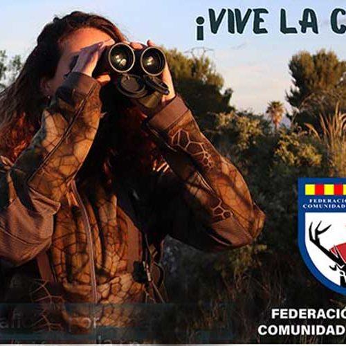 ¡Vive la caza!, la nueva campaña de la Federación de la Comunidad Valenciana para promover la caza entre los jóvenes