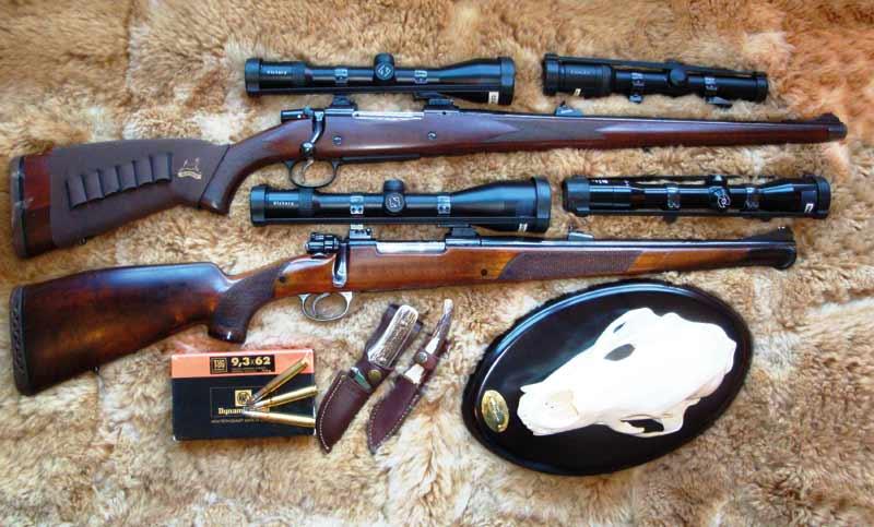 rifles para aguardo
